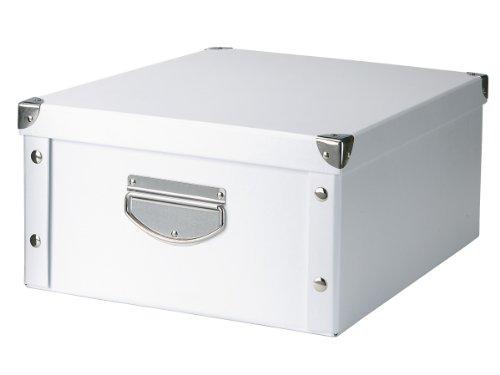 zeller-17764-aufbewahrungsbox-pappe-40-x-33-x-17-weiss