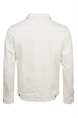 Lee Rider Jacket Men's Jeans Jacket White L888WZMG