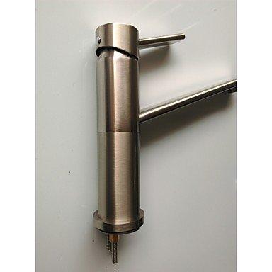 Küchenarmaturen Küchenarmatur Arbeitsplatte berühren / berührungslos Messing Gebürstet -