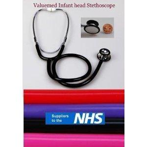 RED con doppia testa e tubo Outlet-Stetoscopio per uso pediatrico Clinical