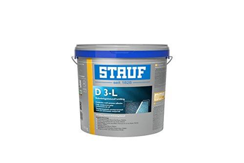 Stauf 141020 Klebstoffe für textile und elastische Beläge D 3-L, 14kg