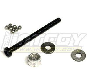 ups MT-025C Thrust Ball Set for Mini-T, SCT & Mini-Desert Truck MT-025 ()