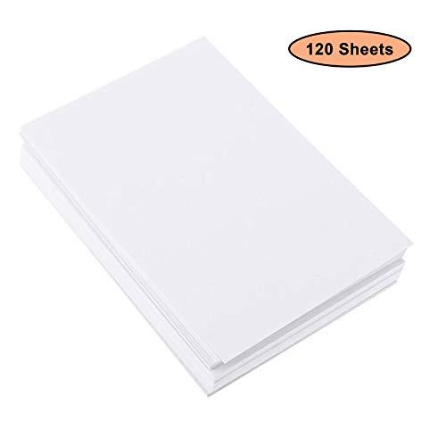 BELLE VOUS 120 Blatt Aquarellpapier A4 - Wasserfarben Papier - 200g Kaltgepresst Baumwolle weiß Papier - Zeichenpapier Perfekt für Anfänger Künstler, Skizzen, Öl- und Acrylmalerei Pan Pastels -