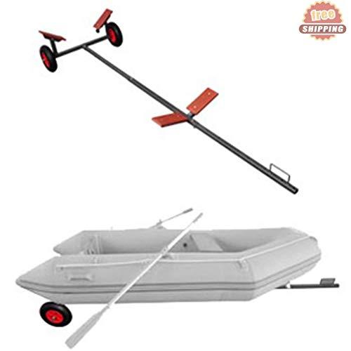 Generic Wheels Fittingsraft T-Bastelwagen, Boot-Anhänger, Aufblasbare Ski-Schlauchboote, Rippenräder, Armaturen, Boot-Anhänger, Jet