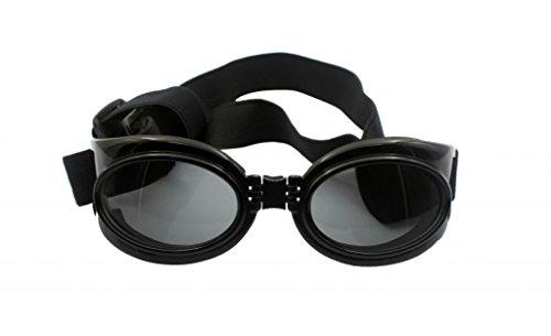 Namsan Hund UV-Schutz-und Skibrillen Sonnenbrillen Pet wasserdichte Sonnenbrille - Schwarz, Grosse
