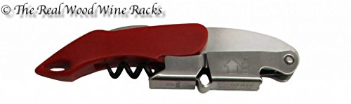 Coutale Premium, style de sommelier, double levier Sommelier ami Tire-bouchon–Rouge