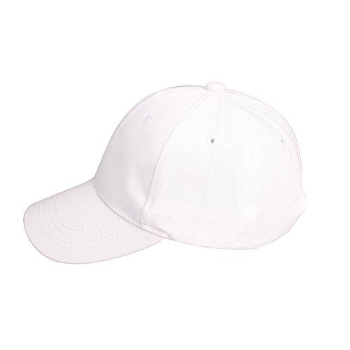 Kinder Unisex Snapback Cap Junge Basecap Kappe Baseballcap Bauwolle Kindercap Sommercap Größenverstellbar für Kinder Bindemütze Babymütze Jungen Mädchen Mütze Hut - verschiedene Farben-Fashion