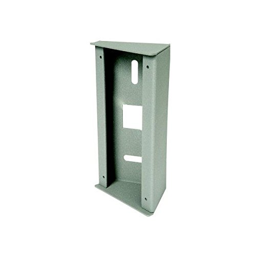 Aiphone MGF30 Metal Corner Housing, 30-Degree Angle for Panels JFDV and JKDV
