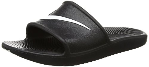 Nike Kawa Shower, Chanclas Hombre, Negro Black/White