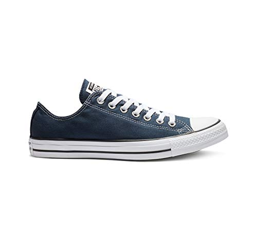Converse Unisex-Erwachsene Chuck Taylor All Star-Ox Low-Top Sneakers, Blau (Navy), 39 EU