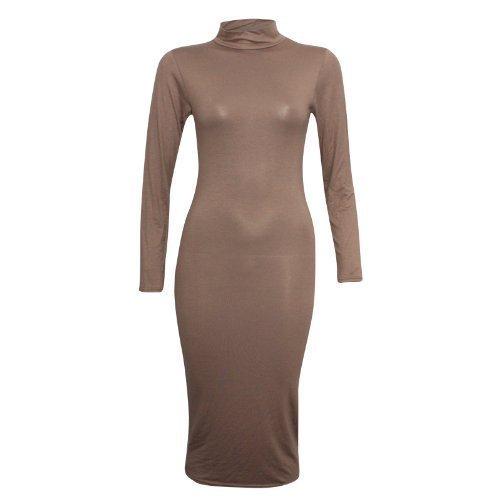 XpoZed Moda -  Vestito  - Donna Moka