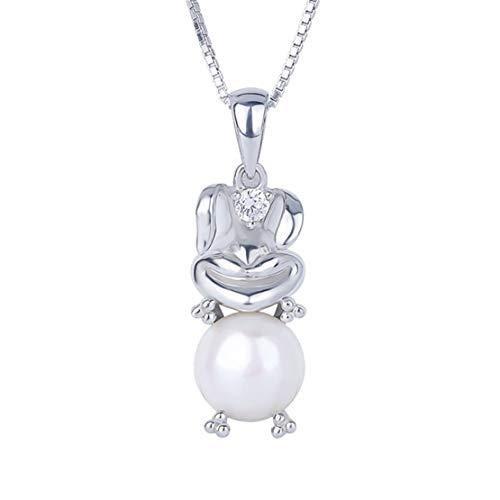 Zerol collana da donna in argento 925 con ciondolo a forma di albero, elegante e raffinata e argento, colore: argento, cod. llq-xl-231