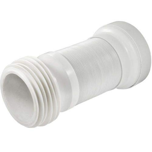 WC scarico flessibile Flexi pan connettore per tubo standard 10,2cm