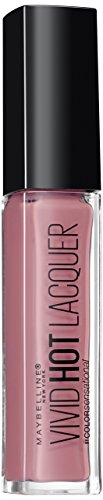 Maybelline Color Sensational Vivid Hot Lacquer, Nr. 66 Too Cute, Lippenlack, intensiv leuchtende...