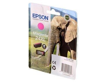 Epson original - Epson Expression Photo XP-55 (24XL / C 13 T 24334010) - Tintenpatrone magenta - 500 Seiten - 8,7ml -