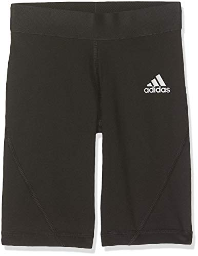 adidas Kinder Alphaskin Kurze Tights, Black, 152