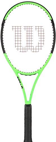 Wilson Blade 9818x 20Countervail edición Limitada Raqueta de Tenis, Color Verde/Negro, Verde