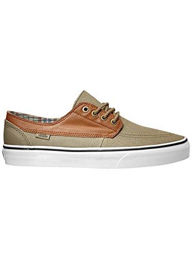 Vans U BRIGATA Unisex-Erwachsene Sneakers (C&L) Coriander / True White