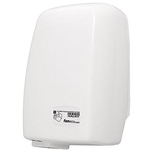 PVC Händetrockner Saraya 1200 W Elektrisch Sensor - Automatik ideal für jeden Geschäftbereich inkl Befestigungsmaterial