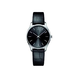 Calvin klein damen armbanduhr connect analog leder k1d23102