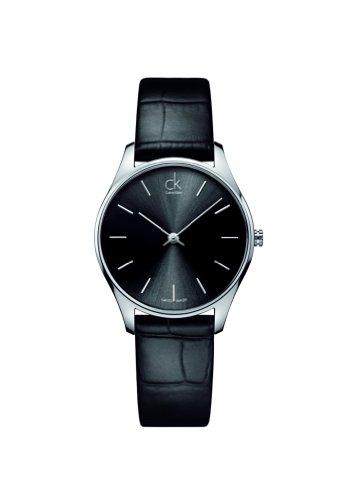 calvin-klein-unisex-armbanduhr-analog-quarz-leder-k4d221c1