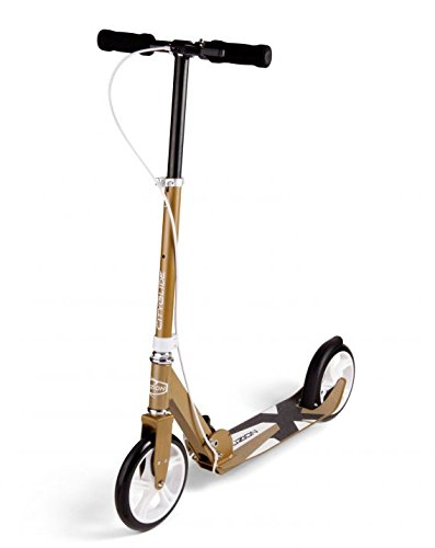 fuzion-cityglide-b200-adult-kick-scooter-w-hand-brake-220lb-weight-limit-folds-down-adjustable-handl