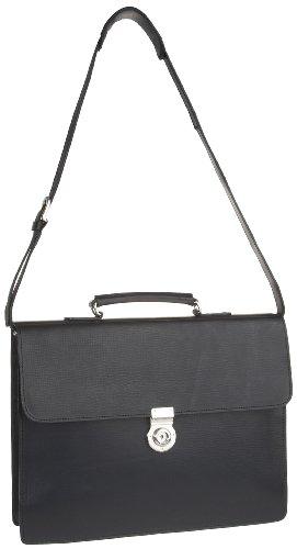 Leonhard Heyden Tradition One Compartmrent Briefcase, Bagage hommes - Noir-V.6 - taille unique Noir-V.6