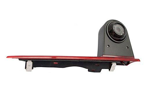 YMPA-Rckfahrsystem-Einparkhilfe-Transporter-kompatibel-mit-Ford-Transit-Custom-Rckfahrkamera-Monitor-178-cm-7-Zoll-Inch-10-Meter-Kabel-Farbe-IR-Nachtsicht