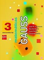 Matemáticas, Gauss. 3 ESO - 9788434884168