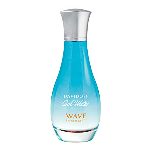 Davidoff Cool Water Wave Woman Eau de Toilette Vapo, 50 ml - Iris, Pfingstrose Parfüm