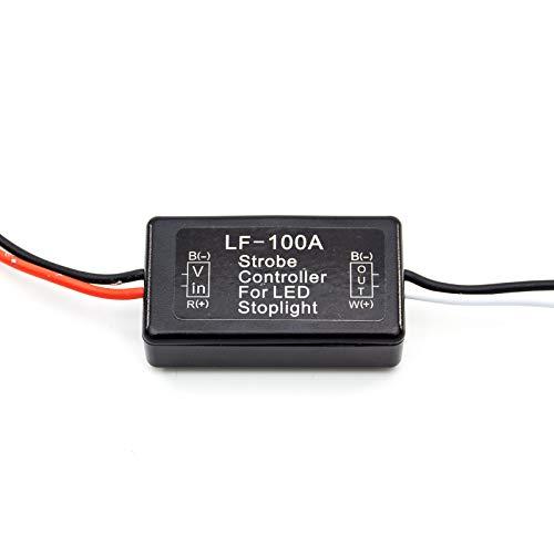 PA Accessoires Auto LED strobe contrôleur Flasher module pour clignotant arrière de frein arrière Feu stop lampe 12 V