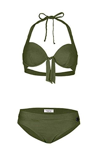 Borabora Funktions-Bikini C-Cup Oliv Größe 34