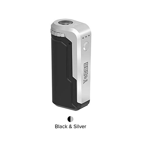 Yocan UNI Kit, Yocan Uni Box Mod Kit,Fit for Any Height or Diameters of  Atomizer, Magnetic 510 Adapter, Black Color (Black and White Mix)