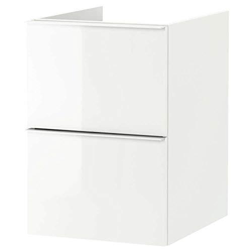 Godmorgon accessoire de Wash-stand avec 2tiroirs, blanc brillant