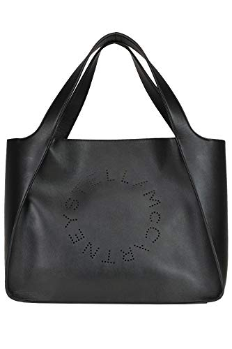 Stella McCartney Stella Logo Tote eco-Leather Bag Woman Black unica int.