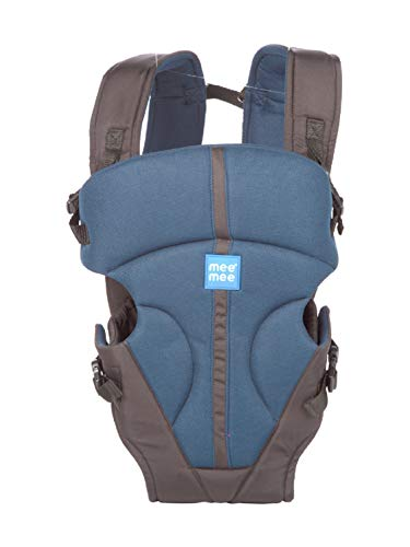 Mee Mee Lightweight Breathable Baby Carrier, Navy Blue