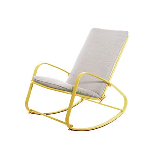Rocking Chair Adulte Siesta Chair Balcon Fauteuil Inclinable Simple Lazy Old Man Easy Chair