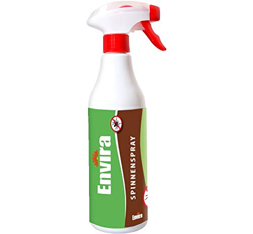 Envira Spinnen-Spray - Anti-Spinnen-Mittel Mit Langzeitwirkung - Geruchlos & Auf Wasserbasis - 500 ml -