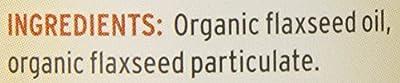 Barlean's, Organic Lignan Flax Oil, 12 fl oz (355 ml)