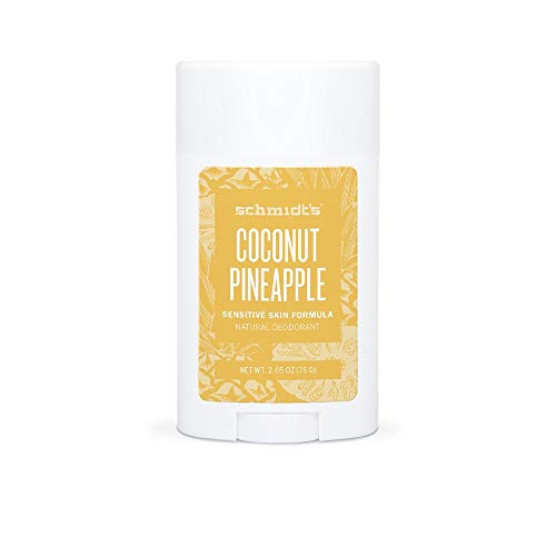Schmidt's Deodorant Stick Coconut + Pineapple, 1er Pack (1 x 75 g) -