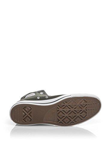 Converse Star Hi Canvas, Sneaker Unisex – Adulto Verde scuro
