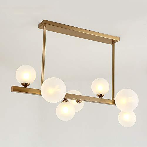 LIUX Moderne Minimalistische Glas Kreative Blase Licht Einfache Atmosphäre Wohnzimmer Restaurant Hotel Modell Streifen Kronleuchter Led-beleuchtung Kreative Persönlichkeit Energiesparende Augen Kronle -
