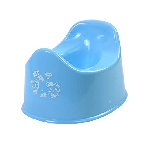 Bathroom mat Urinal Semplice Bambino vasino Integrato, a Prova di Spruzzi-Urine/Forza portante for i Bambini di età Compresa tra 1-4 Anni la qualità orinatoio Materiale PP, 3 Colori (Color : Blue)