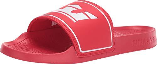 Supra Unisex-Erwachsene Lockup Sneaker, Rot (Risk Red 601), 42.5 EU (Skytop Supra Sneakers)