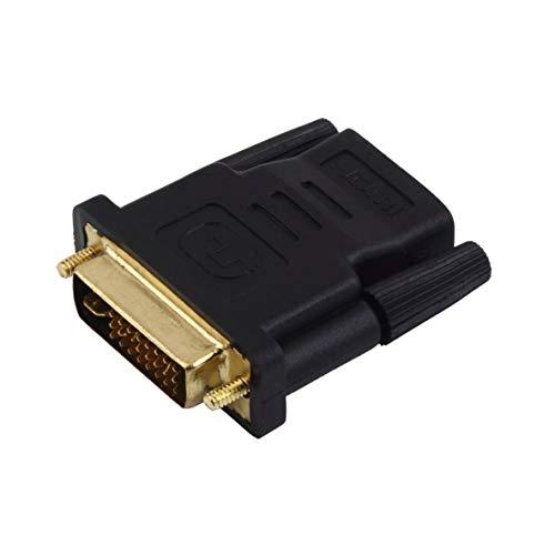 1080i-lcd Hdtv Monitor (Noradtjcca DVI-I Stecker auf HDMI Adapter Vergoldete Stecker Konverter Koaxial 1080P Unterstützung für HDTV LCD Monitor)
