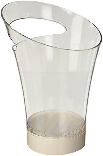 Lumisky bat-12bu-01–2–Cubo para champán Independiente pila con LED plástico 1W Multicolor 20x 20x 30