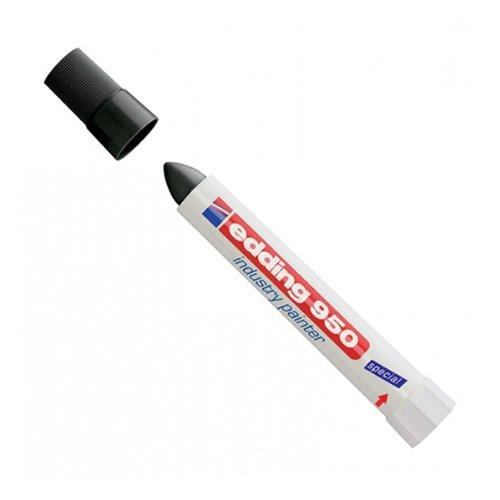 edding 4-950-1-1001 Spezialmarker 950 industry painter, 10 mm, schwarz -