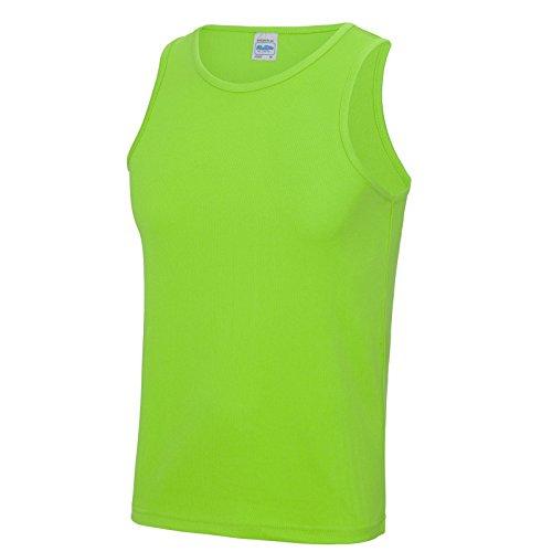 AWDis Herren Modern T-Shirt Gr. L, Electric Green (Go Green Ringer T-shirt)