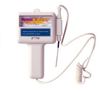 Elektronischer pH und Chlor Wert Messgerät tester Wassertester Wasser Messer Schwimmbecken Test Schwimmbad Tester Pool