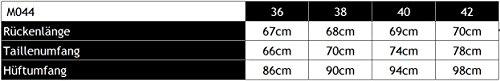 Figl Pencil Rock Abendrock mit Falten, Größe 44, Schwarz -